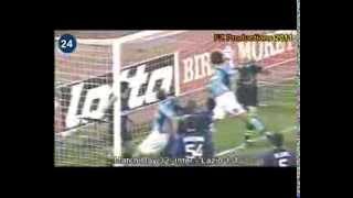 Italian Serie A Top Scorers: 2000-2001 Hernan Crespo (Lazio) 26 goals