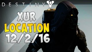 destiny xur agent of the nine location 12 2 2016 xur loot today xur location 12 2 16