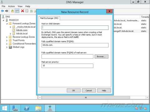 Exchange 2013 - DNS Basics For Email Delivery