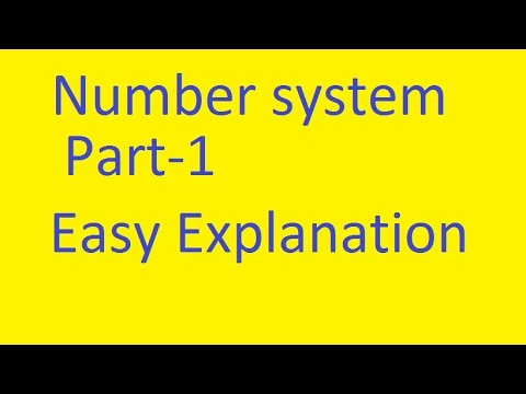 Number System Part-1 SSC IBPS SBI CAT