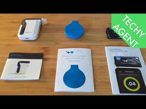 Breathalyzer Showdown: Breathometer Vs BacTrack
