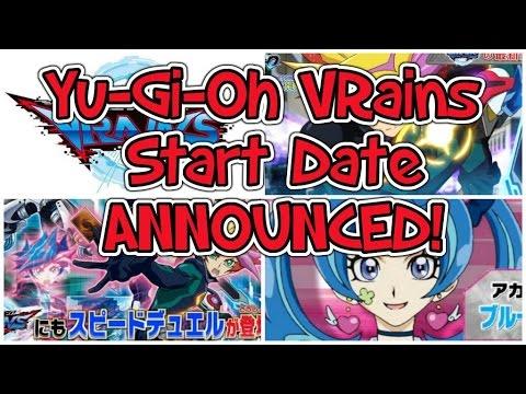Yu-Gi-Oh VRains: Start Date ANNOUNCED!
