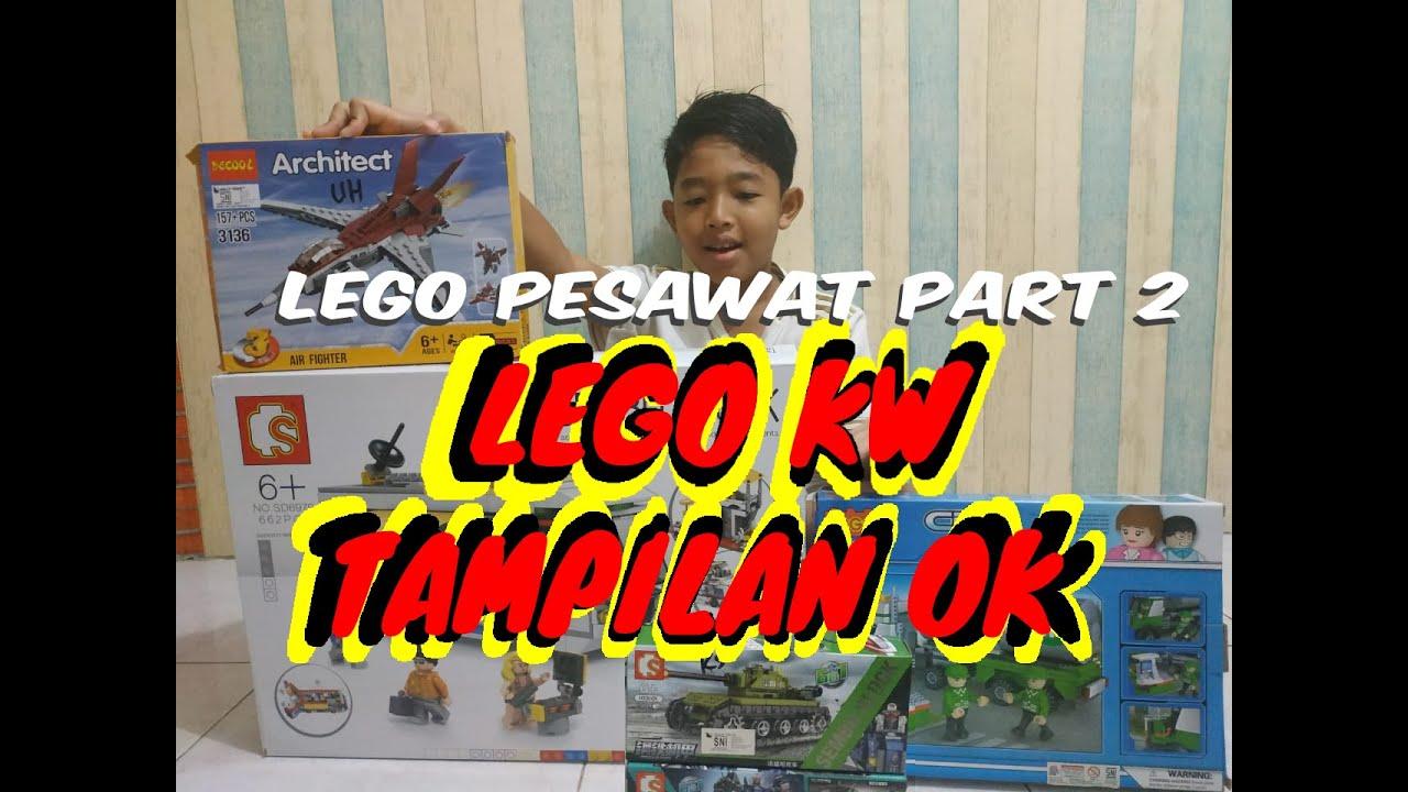 CARA PASANG LEGO PESAWAT - PART2 - YouTube