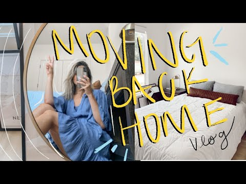 MOVE IN BACK HOME WITH ME: Charlotte, NC Vlog
