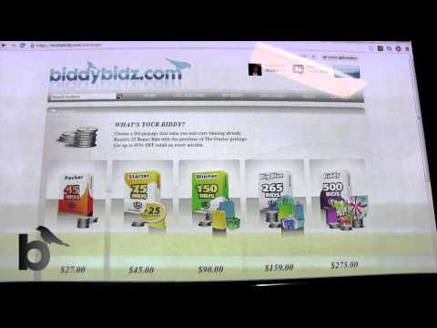 Biddy Bidz: The BEST Penny Auction Site Around