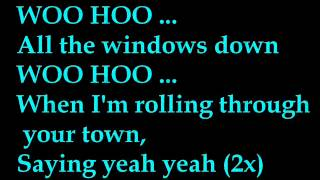Big Time Rush - Windows Down (LYRICS)