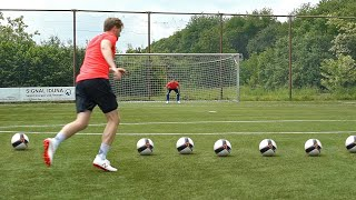 Even Manuel Neuer Wouldn't Save all These Free Kicks ! 🔥 Battle vs Pro Keeper