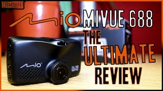 Mio MiVue 688 | The ULTIMATE REVIEW! | Complete How To Guide and Walkthrough!