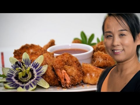 Crispy Fried Shrimp (Chinese Crispy Seafood Recipe) Asian Cooking