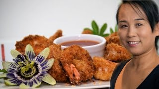 Chinese Crispy Fried Shrimps (Chinese Style Cooking Recipe)
