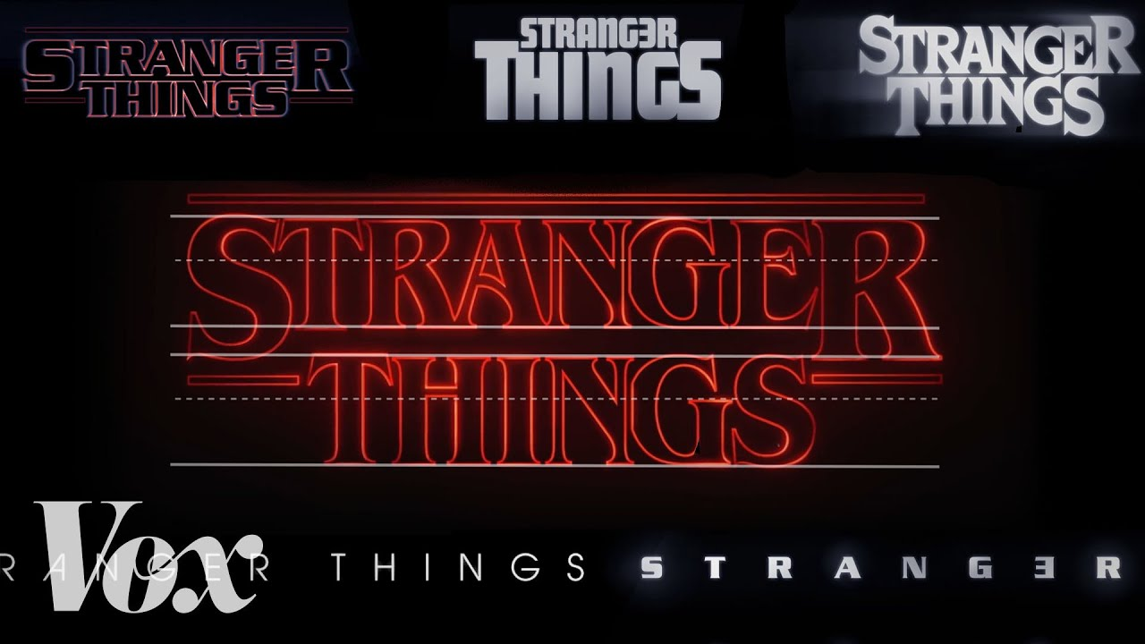 how stranger things got its retro title sequence youtube