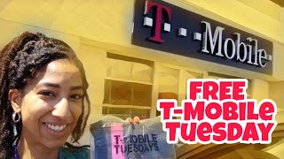 🔥 FREE T-Mobile Tuesday! Collecting FREEBIES (8/21/18)