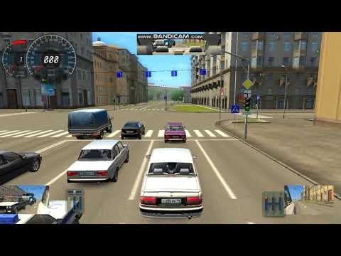 3д инструктор 2 (City Car Driving) На слабом ноутбуке!