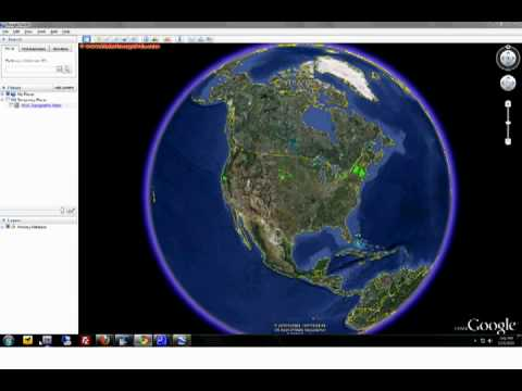 USGS D Topo Maps In Google Earth Enjoy  YouTube - Us elevation map google