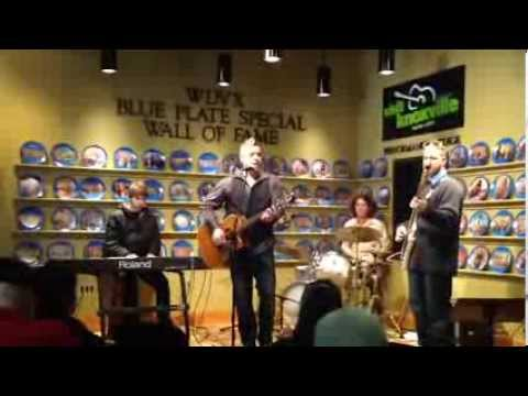 Brad Austin sings Avie's Song on WDVX Blue Plate Special