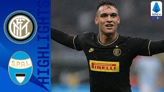 Inter 2-1 SPAL | Lautaro Martinez Double Sends Inter Top! | Serie A