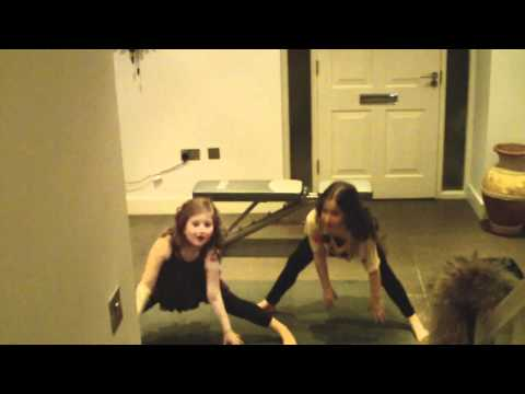Charlie & Tilly Dancing To Cheryl Cole