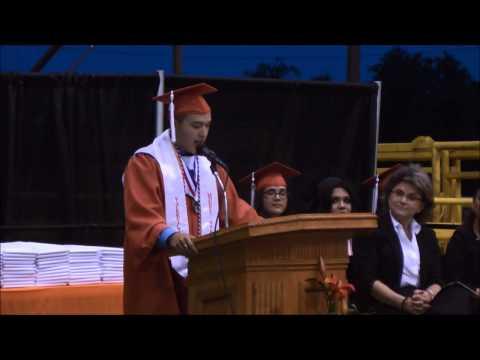 Best Valedictorian Speech- Mercedes High School