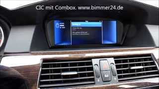 BMW Combox Nachrüstung APPS, BMW LIVE, INTERNET, WEB RADIO, PLUGIN MIT SNAP IN E90 E60 E87 F10 F30