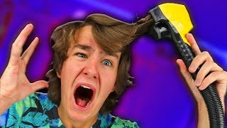 NEVER USE... This Vacuum Cleaner Haircut Gadget