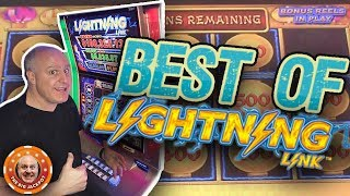 ⚡BIGGEST & BEST Lightning Link HITS! ⚡Trip Down Memory Lane! | The Big Jackpot