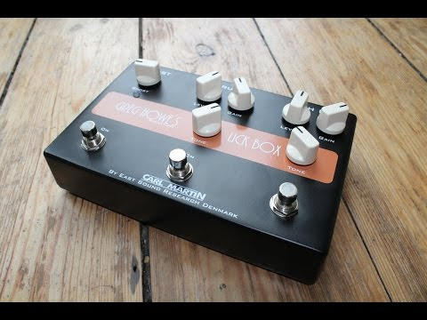 Carl Martin Greg Howe´s Signature Lick Box - Demo by Simon Gotthelf