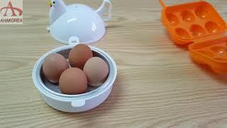전자렌지로 계란 반숙 완숙하기