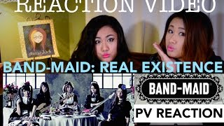 BAND-MAID: REAL EXISTENCE PV| REACTION VIDEO JROCK