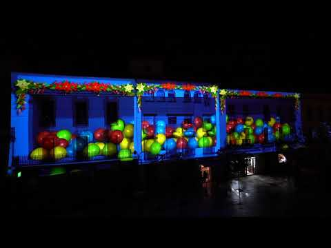 Patrimonio e ilusión en el Mapping de Navidad de Córdoba