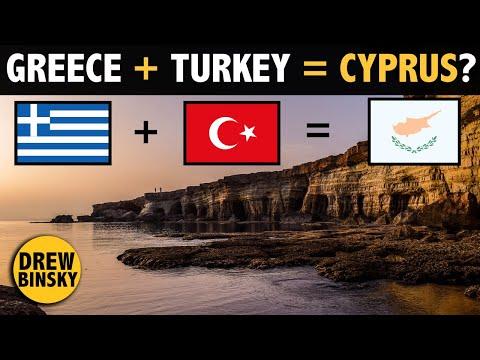 Greece & Turkey on 1 Island? (THIS IS CYPRUS)