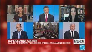 TV3 - Divendres - El perfil de Carles Puigdemont i Marcela Topor Després d'haver defensat el referèndum a Madrid (https://youtu.be/Ps0ZVCX4jYw) i