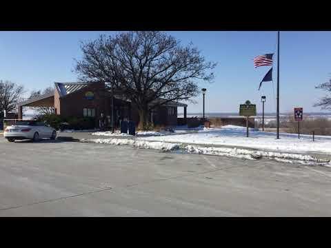 Rest Area Nebraska USA