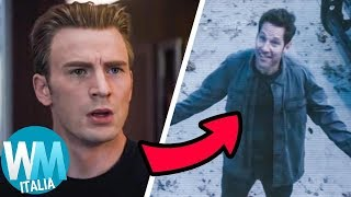 Top 10 TEORIE su AVENGERS ENDGAME rivelatesi FALSE!