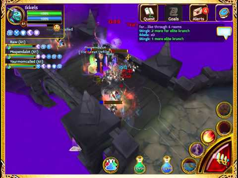 Arcane Legends - Planar Tombs (Level 3) AWESOME LOOT!