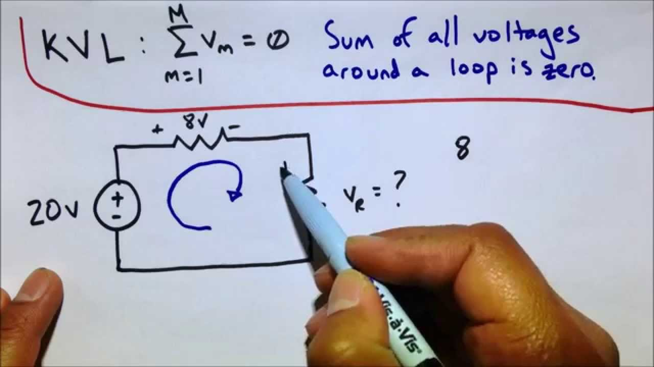 Kvl Kirchhoffs Voltage Law Circuit Analysis Practice Problems Constantcurrentdiodeascollectorload Othercircuit Electrical Youtube