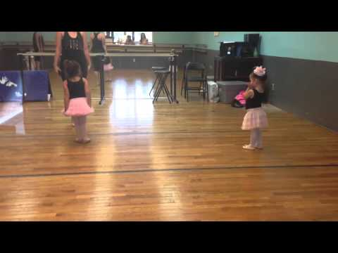 Isabella Rose's 1st BalletTap Lessons