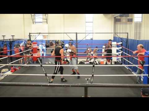 Alan sparring at San Fernando Gym Rd 2-3
