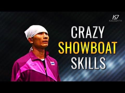 Sepak Takraw ● Thinnakorn Punthep ● Crazy Showboat Skills   HD