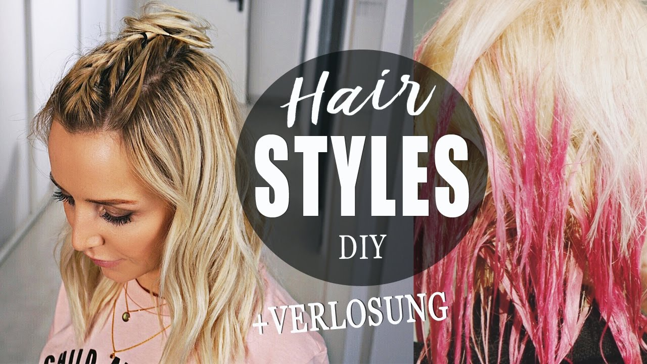 Diy Hairstyles Flechtfrisuren Selber Machen Pastell Spray