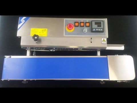 Continuous Band Sealer Demo