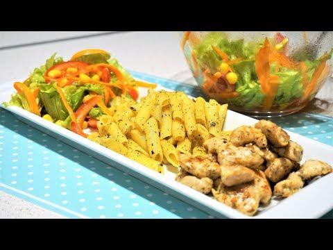Что приготовить на ужин? 3 вкусных блюда: Макароны, курица и салат!