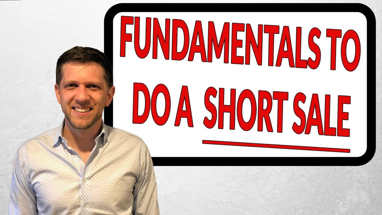 The Fundamentals of a Short Sale in NC