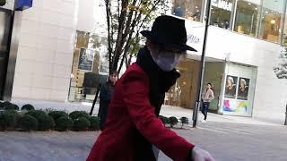 宝塚11月23日宙組東京初日入り待ち芹香斗亜