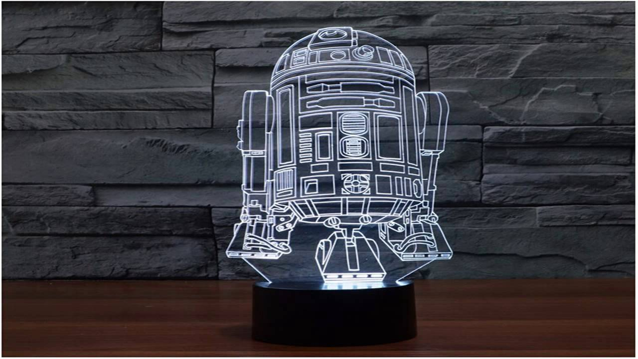 Star Wars Death Star 3D Light Table Lamp Home Decor Gadgets   YouTube