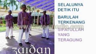 Zaidan Selalunya with lyric