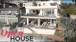Stylish Oceanfront Property In Laguna Beach | Open House Tv