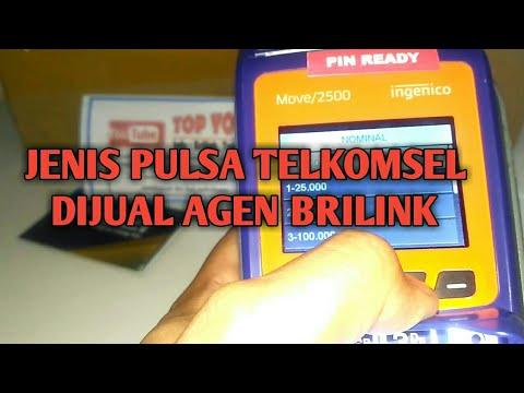 Jumlah Nominal Pulsa Telkomsel Pada AgenBrilink