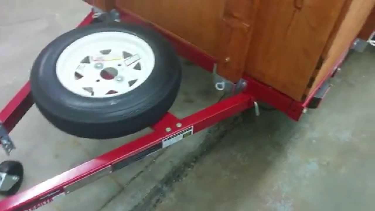 Harbor Freight Folding Utility Trailer