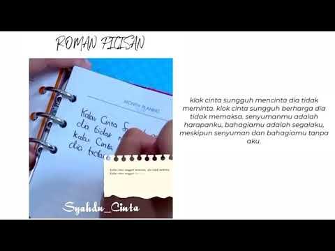 Kata Kata Buat Story WA (Roman Picisan)