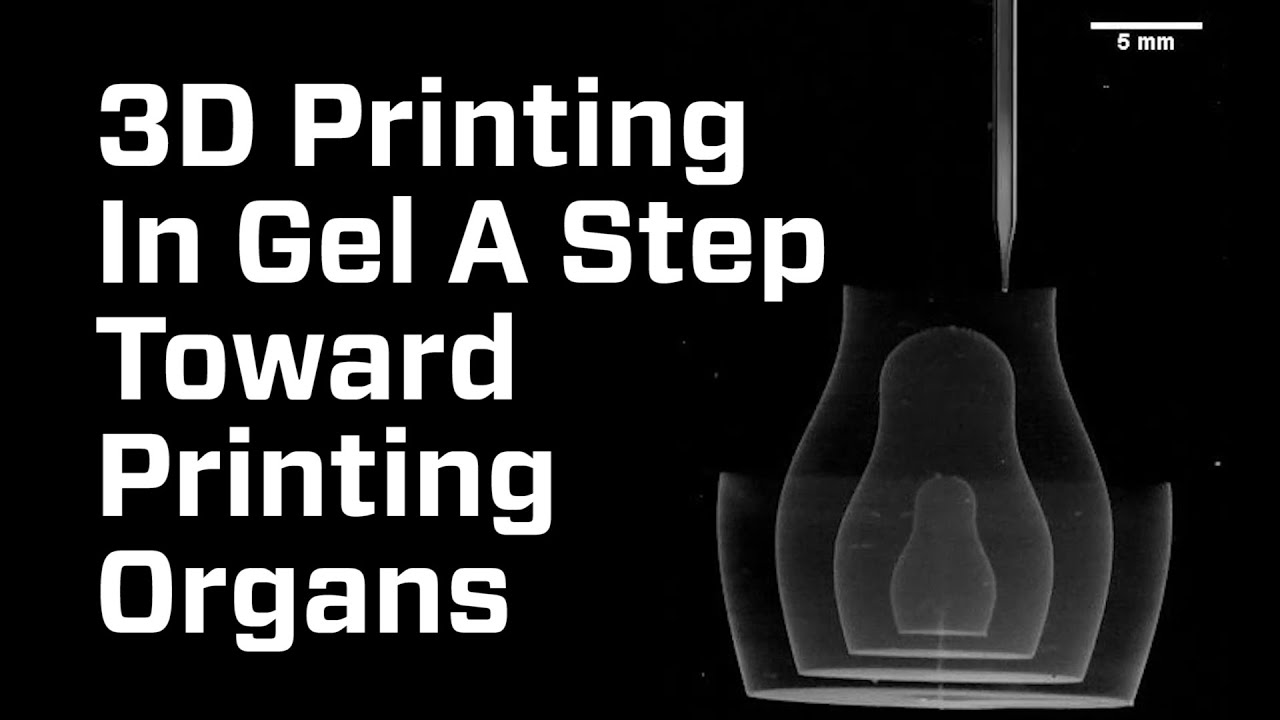 3D Printing In Gel Could Lead To Replacement Organs